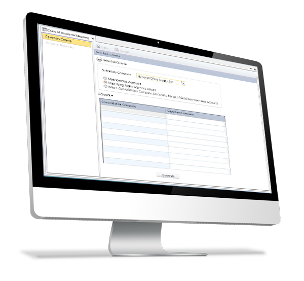 AccountMate Enterprise - Consolidated Ledger Module